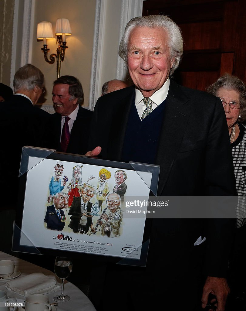 Michael Heseltine attends the Oldie of the Year Awards at Simpsons in the Strand on February 12, 2013 in London, England.