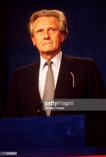 Michael Heseltine Conservative Party Conference UK 1995
