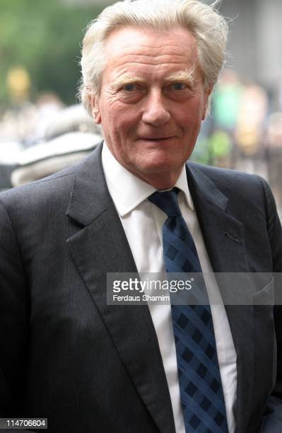 Michael Heseltine during Service of Thanksgiving for Lord Callaghan of Cardiff and Lady Callaghan at Westminster Abbey in London Great Britain