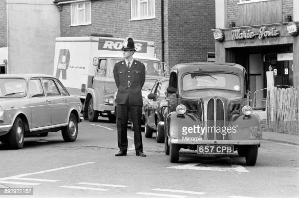 Michael Heseltine Member of Parliament for Tavistock on a tour of Basingstoke 14th October 1971Michael Heseltine Member of Parliament for Tavistock...