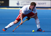 michael hoare england during mens hockey
