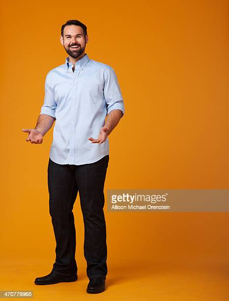 Michael Holcomb is photographed for People Magazine on December 11 2013 in San Diego California PUBLISHED IMAGE