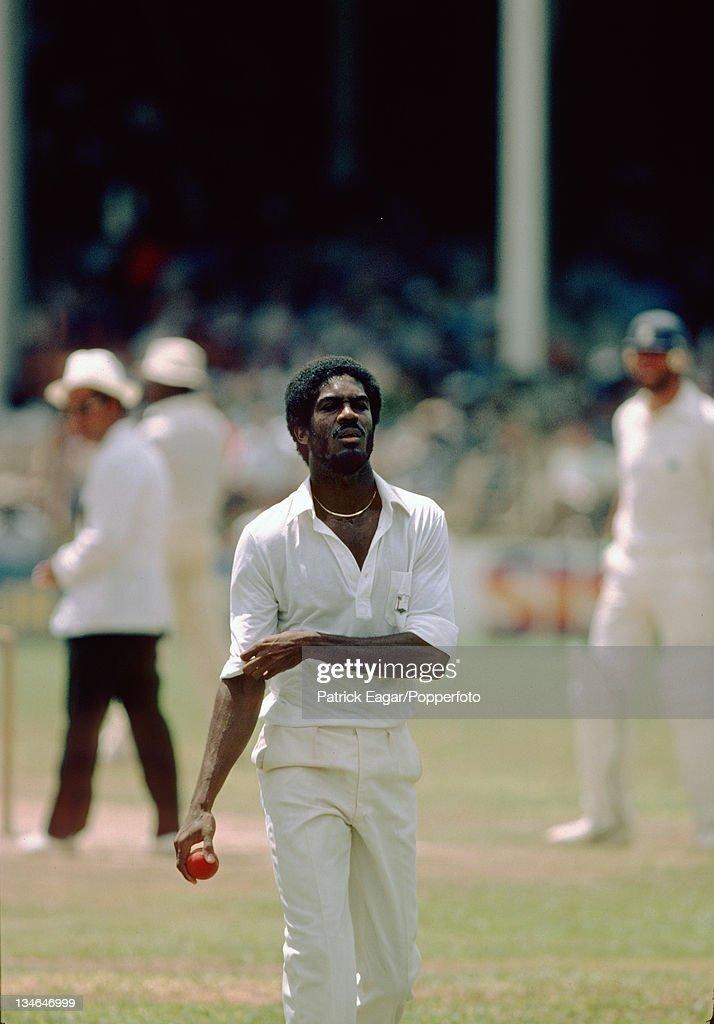 West Indies v England, 1st Test, Port-of-Spain, Feb 1980-81 : News Photo