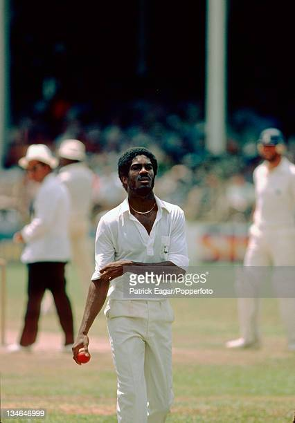 Michael Holding , West Indies v England, 1st Test, Port-of-Spain, Feb 1980-81.