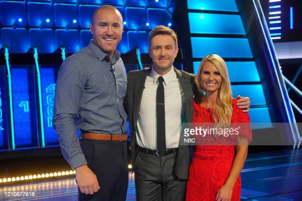 THE WALL Michael Holly Episode 302 Pictured Michael Vanosdale Chris Hardwick Holly Vanosdale
