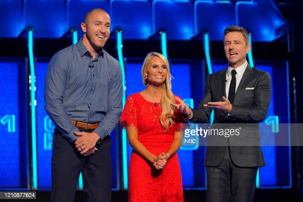 THE WALL Michael Holly Episode 302 Pictured Michael Vanosdale Holly Vanosdale Chris Hardwick