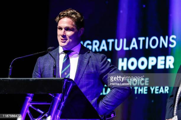 Michael Hooper during the 2019 Rugby Australia Awards at the Seymour Centre on November 14 2019 in Sydney Australia