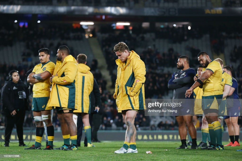 New Zealand v Australia - The Rugby Championship : News Photo