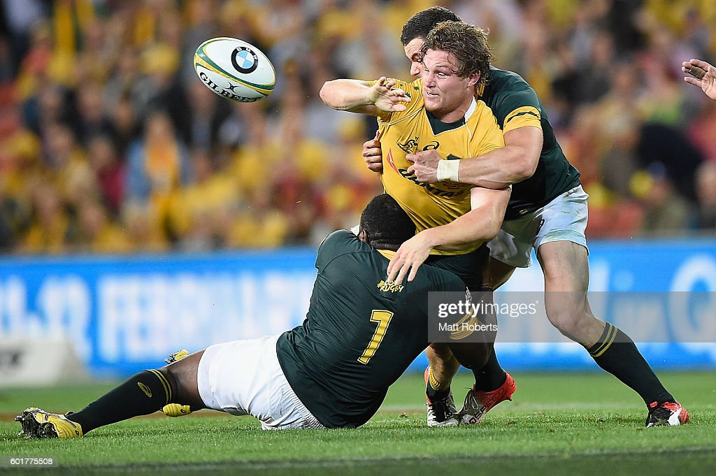 Australia v South Africa : News Photo