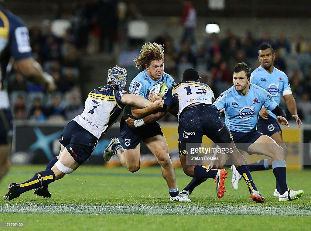 Super Rugby Rd 12 - Brumbies v Waratahs : News Photo