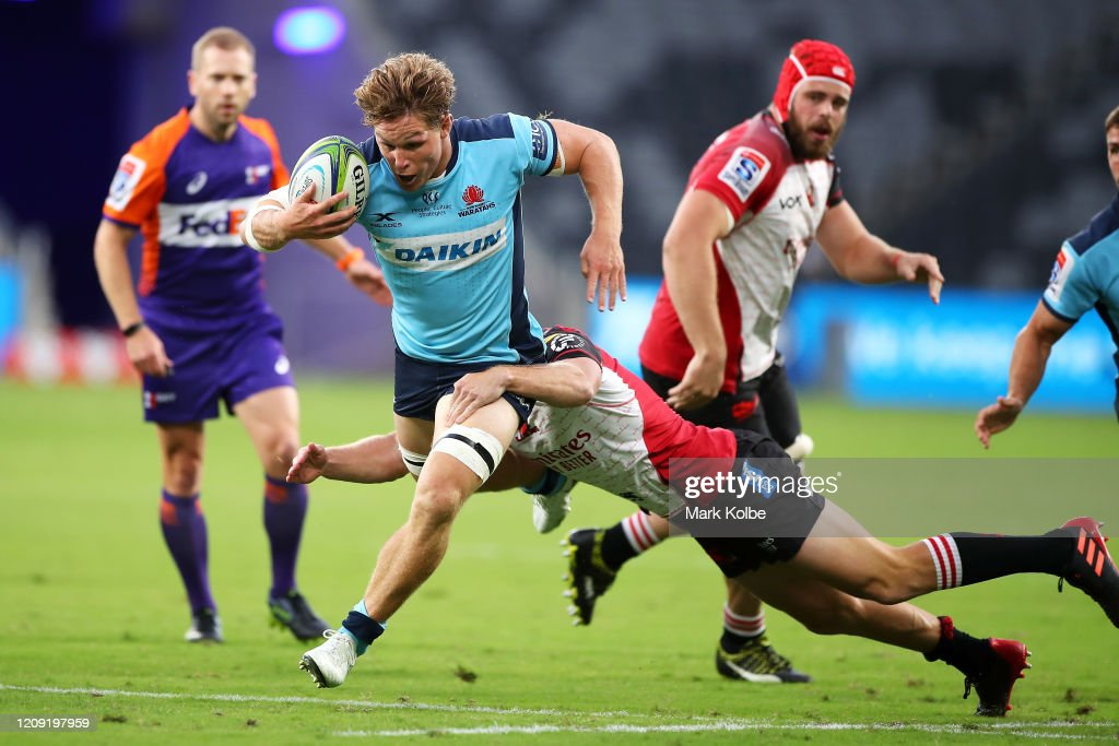 Super Rugby Rd 5 - Waratahs v Lions : News Photo