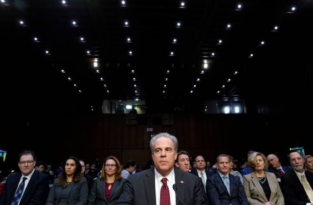 DC: Justice Dept Inspector General Michael Horowitz Testifies Before Senate Judiciary Committee On FISA Report