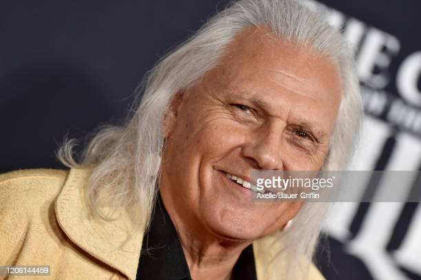 """Michael Horse attends the Premiere of 20th Century Studios' """"The Call of the Wild"""" at El Capitan Theatre on February 13, 2020 in Los Angeles,..."""