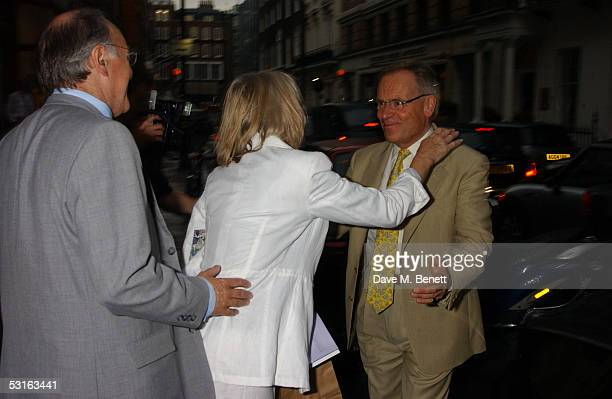 Michael Howard Sandra Howard and Lord Jeffrey Archer attend The Sixties Set An Inside View By Robin DouglasHome at the Air Gallery June 28 2005 in...