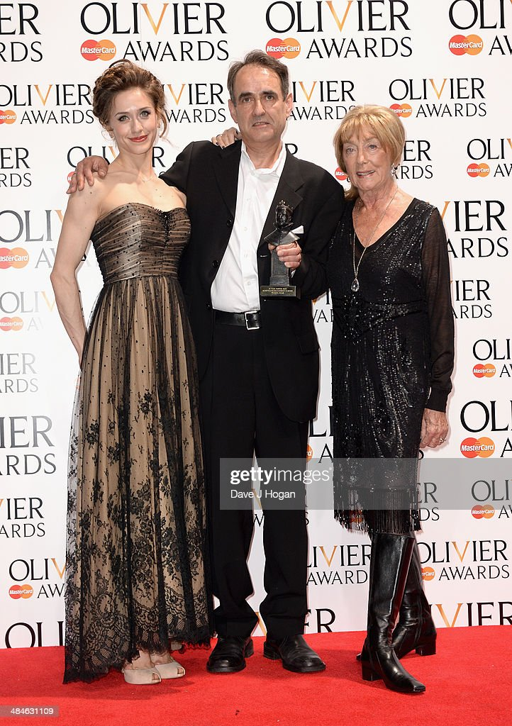Laurence Olivier Awards - Press Room : News Photo