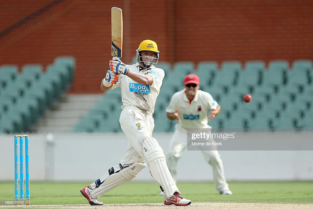 Sheffield Shield - Redbacks v Warriors: Day 2