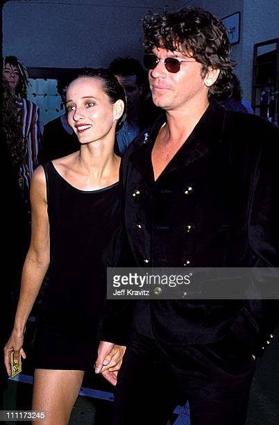 Michael Hutchence during 1989 MTV Video Music Awards in Los Angeles, California, United States.