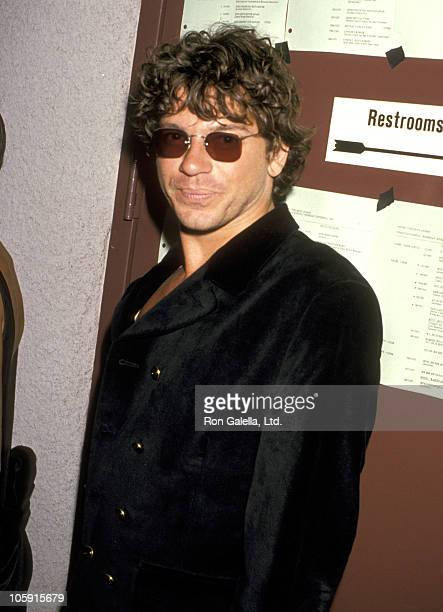 Michael Hutchence of INXS during 1989 MTV Video Music Awards at Universal Amphitheater in Universal City, California, United States.