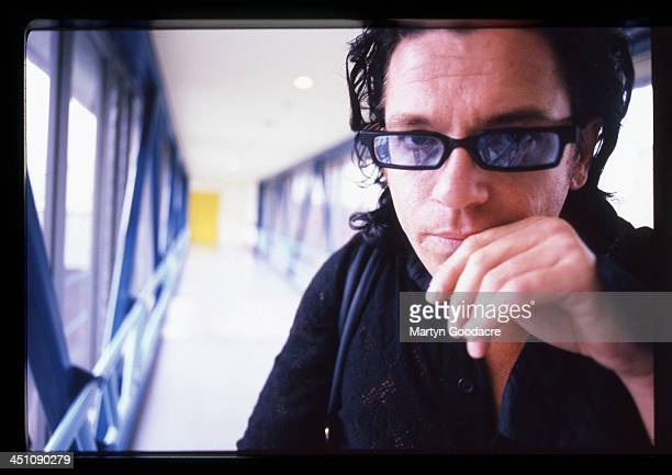 Michael Hutchence singer with INXS poses for portraits in Sydney Australia 1996