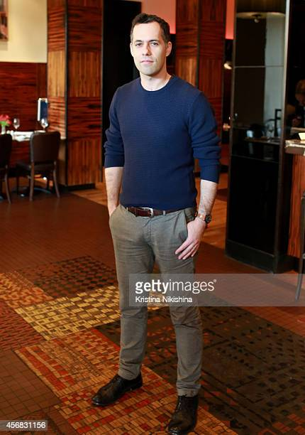 Michael Idov attends the Concerned Russian premiere of Boris Khlebnikov's TNT Series during the Saint Petersburg International Media Forum at the...