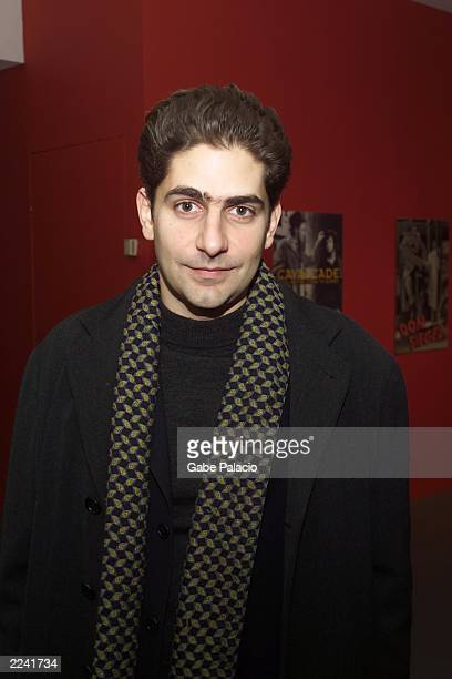 Michael Imperioli actor on the Sopranos after the 'Discussion with David Chase' a presentation about the making of the Sopranos at the Museum of...