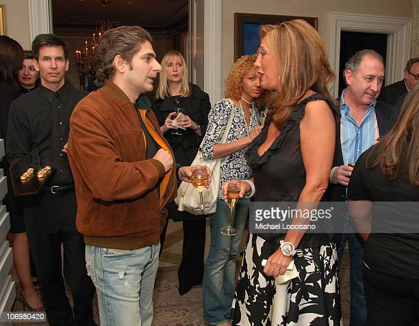 Michael Imperioli and Denise Rich during Denise Rich and Jacob Arabo Host an Exclusive Cocktail Party to Preview the 2006 Jacob Co Fall Collection at...