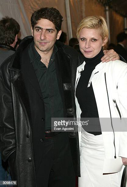Michael Imperioli and his wife Victoria arrive at the Rock Roll Hall Of Fame 19th Annual Induction Dinner at the Waldorf Astoria Hotel March 15 2004...