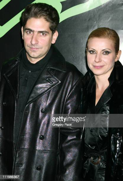Michael Imperioli and his wife Victoria during The Rolling Stones Celebrate the Launch of Four Flicks in New York City at Capitale in New York City...