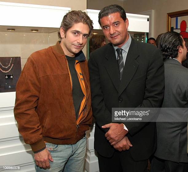 Michael Imperioli and Jacob Arabo during Denise Rich and Jacob Arabo Host an Exclusive Cocktail Party to Preview the 2006 Jacob Co Fall Collection at...