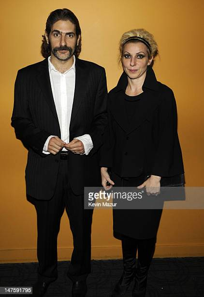 Michael Imperioli and Victoria Chlebowski attend The Cinema Society and Dolce and Gabbana Host A Screening of Filth and Wisdom at Landmark Sunshine...