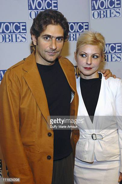 Michael Imperioli and Victoria Imperioli during 51st Annual Village Voice OBIE Awards at Jack H SKIRBALL Center for the Performing Arts in New York...