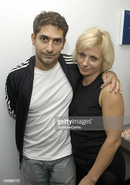 Michael Imperioli and Victoria Imperioli during Dior and The Cinema Society Present Proof After Party at 165 Charles Street Designed by Richard Meier...