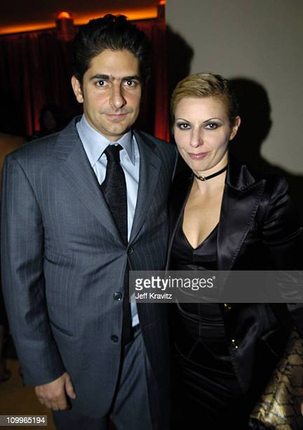 Michael Imperioli and Victoria Imperioli during HBO Golden Globe Awards Party Inside at Beverly Hills Hilton in Beverly Hills California United States