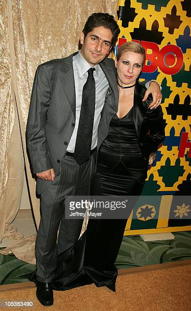 Michael Imperioli and Victoria Imperioli during HBO Post Award Reception Celebrating The 62nd Annual Golden Globe Awards Arrivals at Griff's...