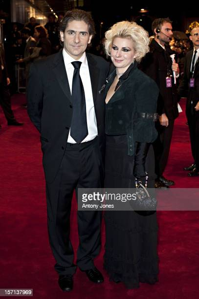 Michael Imperioli And Wife Victoria Chlebowski Arrives At The Charity Royal Film Performance 2009 Of 'The Lovely Bones' At The Odeon Leicester Square...