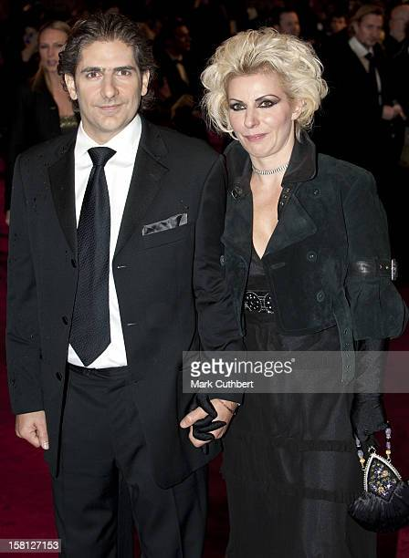 Michael Imperioli And Wife Victoria Chlebowski Arriving For The World Premiere And Royal Film Performance Of The Lovely Bones At The Odeon Leicester...