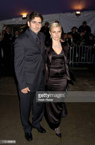 Michael Imperioli and wife Victoria during 2004 Costume Institute Gala Dangerous Liaisons Arrivals at Metropolitan Museum of Art in New York City New...