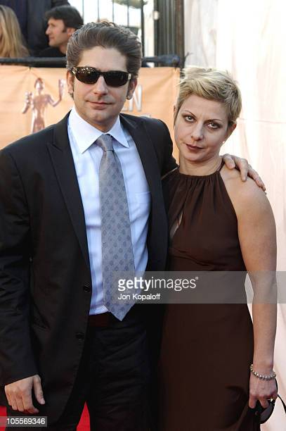Michael Imperioli and wife Victoria during 2005 Screen Actors Guild Awards Arrivals at The Shrine in Los Angeles California United States