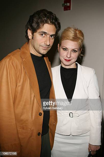 Michael Imperioli and wife Victoria during 51st Annual Village Voice Obie Awards at Skirball Center in New York NY United States