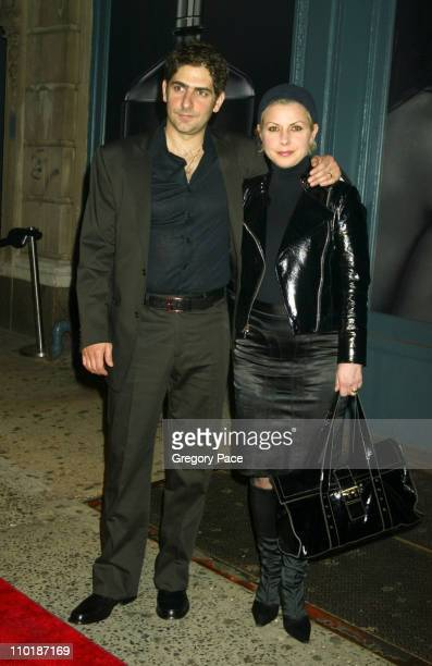 Michael Imperioli and wife Victoria during John Varvatos Fragrance Launch Inside Party and Arrivals at The Canal Room in New York City New York...