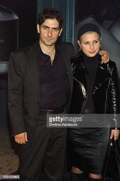 Michael Imperioli and wife Victoria during John Varvatos New Fragrance For Men Party at Canal Room in New York City New York United States