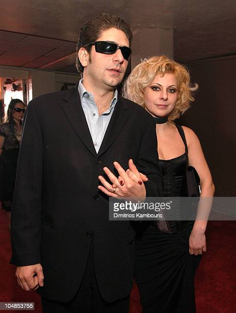 Michael Imperioli and wife Victoria during Ninth Annual Screen Actors Guild Awards Backstage and Audience at The Shrine Auditorium in Los Angeles...