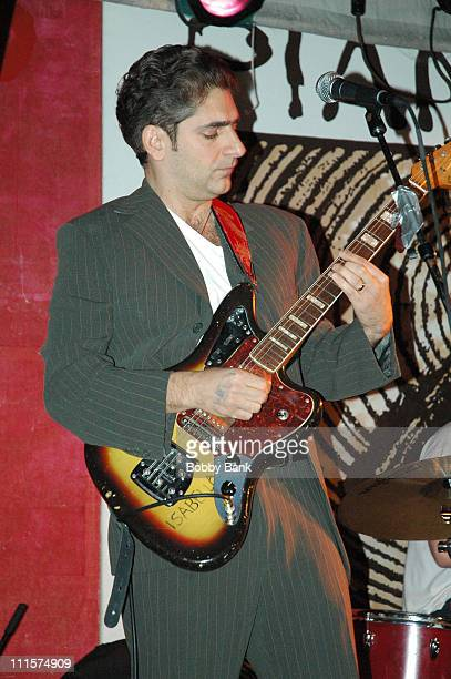 Michael Imperioli during La Dolce Vita with Michael Imperioli Elijah Amitin and Olmo Tighe at Pianos Club at Pianos Club in New York City New York...