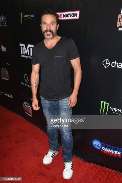 Michael Irby attends 50K Charity Challenge Celebrity Basketball Game at UCLA's Pauley Pavilion on July 17 2018 in Westwood California