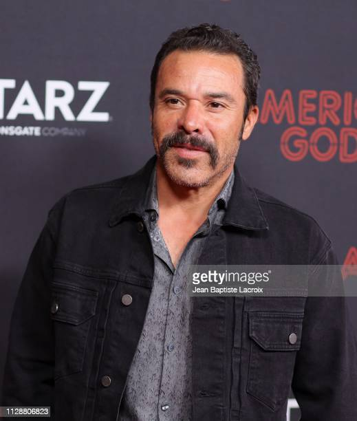 Michael Irby attends the premiere of STARZ's 'American Gods' season 2 at Ace Hotel on March 05 2019 in Los Angeles California