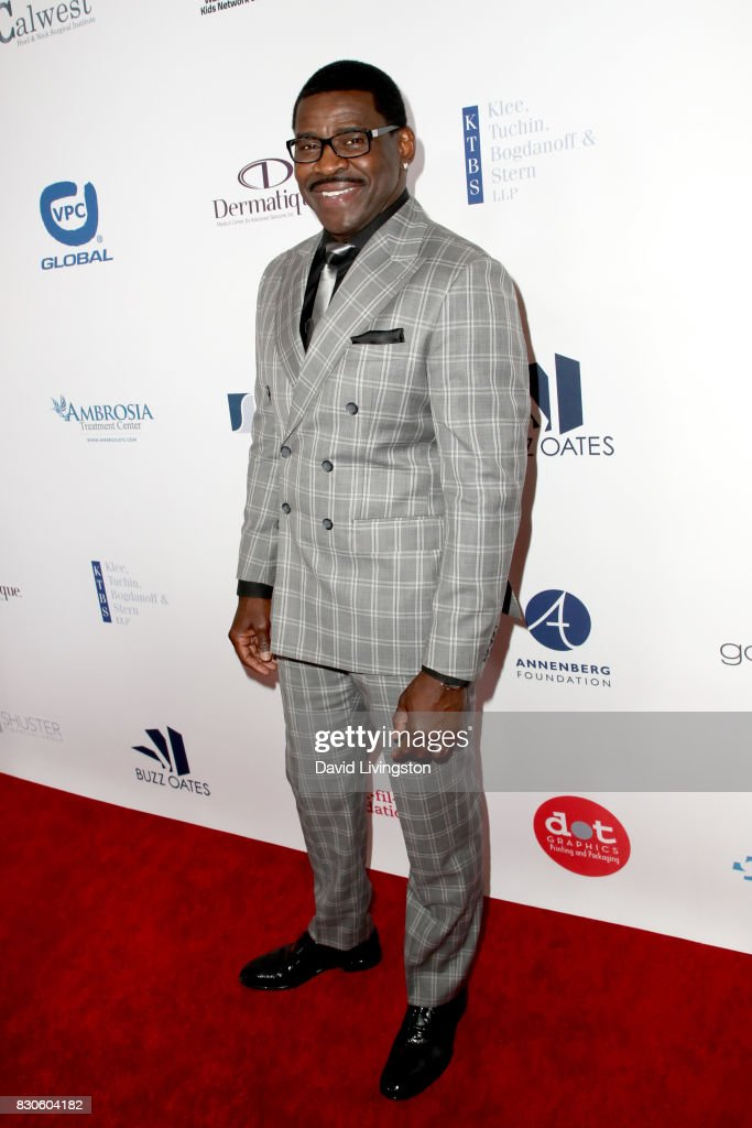 Michael Irvin at the 17th Annual Harold & Carole Pump Foundation Gala at The Beverly Hilton Hotel on August 11, 2017 in Beverly Hills, California.