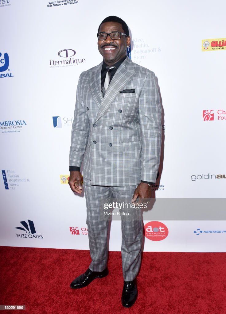 Michael Irvin attends the 17th Annual Harold & Carole Pump Foundation Gala at The Beverly Hilton Hotel on August 11, 2017 in Beverly Hills, California.