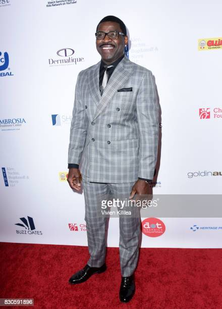 Michael Irvin attends the 17th Annual Harold Carole Pump Foundation Gala at The Beverly Hilton Hotel on August 11 2017 in Beverly Hills California
