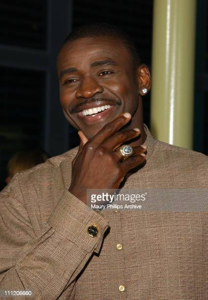 Michael Irvin during 'Martin Lawrence Live Runteldat' World Premiere at ArcLight Cinemas in Hollywood California United States