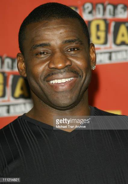 Michael Irvin during Spike TV's 2006 Video Game Awards Press Room at Galen Center in Los Angeles CA United States